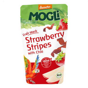 MOGLi Organic Strawberry Stripes with Chia