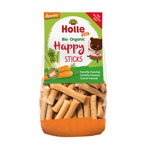 Holle Kids Organic Happy Sticks Carrot-Fennel