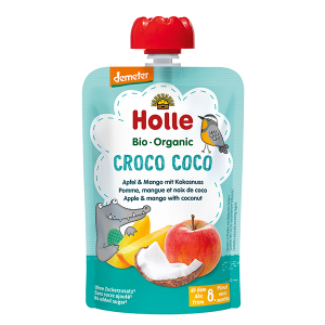 Holle Organic Baby Food Pouch - Croco Coco