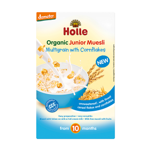 Holle Organic Junior Muesli Multigrain with Cornflakes