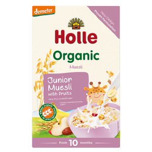 Holle Organic Junior Muesli Multigrain with Fruit