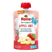 Holle Organic Baby Food Pouch - Apple Ant