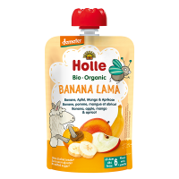 Holle Organic Baby Food Pouch - Banana Lama