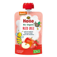 Holle Organic Baby Food Pouch - Red Bee
